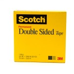 Scotch Double Side Tape in Box 665-3436. 3/4 x 36 yd (19mm x 33m). 1 roll/box