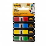 Post-it? Flags 683-4AB. 1/2 x 1.7 in (11.9 mm x 43.2 mm), Bright colors, 35 flags/color, 4 colors/pack