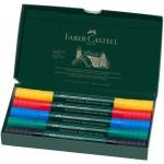 FABER-CASTELL Watercolour Marker A.Durer 5ct Wallet