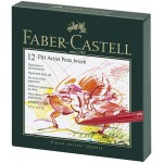 FABER-CASTELL PITT ARTISTPEN STUDIO BOX OF 12