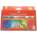 FABER-CASTELL Wax Crayons Round 90mm 8mm 24color