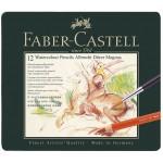 FABER-CASTELL Watercolour Pencil A.Durer Magnus Tin of 12
