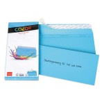 Elco Color C5/6 Envelope intense blue without window, adhesive closure