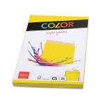 Elco Color C5 Envelope without window, intense yellow