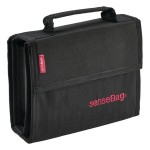 Transotype Sense bag 36pc wallet black (for Copic Sketch, Ciao & Markers)
