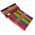 Icecream Sticks 1 x 11.4cm Assorted Color