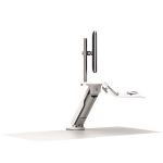 Fellowes LOTUS RT SIT-STAND WORKSTATION - WHITE