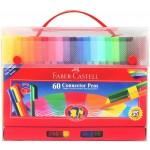 FABER-CASTELL Connector Colour Pen 60's