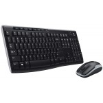 Wireless Keyboard & Mouse (Logitech MK270)