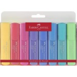 FABER-CASTELL Highlighter TL 46 Pastel Wallet of 8