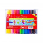 FABER-CASTELL Fibre Tip Pens Full Color Body Set of 20