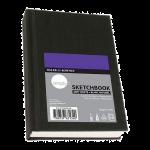"""Daler Rowney Simply Soft White Hardbound Sketchbook (110sht 100gsm) 4*6""""(Nominal A6)"""
