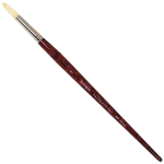 Daler Rowney Georgian Oil Brushes Series G24 Round No. 8
