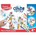 Maped Creativ Color & Play Mix & Match Puzzle