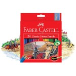 FABER-CASTELL Cardboard packet of 24 color Classic Line