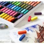 FABER-CASTELL Creative Studio Soft Pastels Half Length Box of 48