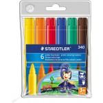 Staedtler 340 Fiber tip Pen Jumbo Set Of 6 Colors