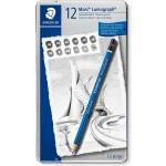 Staedtler Mars Lumograph Pencil Set of 12pcc 100-G12