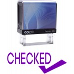 COLOP STAMP CHECKED BLISTER PACK
