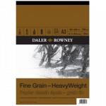 Daler Rowney Sketching Fine Grain Heavyweight Pad (30sht/200gsm) A3