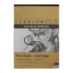 Daler Rowney Sketching Fine Grain Cartridge Pad (30sht/160gsm) A3