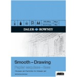 Daler Rowney Drawing Pads Smooth 12sht/96g/m2 size A4