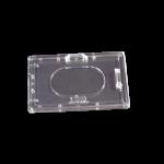 526A HARD ACRYLIC PLASTIC ID HOLDER