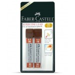 FABER-CASTELL LEAD 0.5mm-2pc/BLISTER