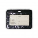 ID Card Holder (PULeather) Blk - Model 2