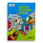 Creative Coloring Book For Adults Level 4