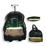 Trolley Bag B206G-Tr Ikola 18 inches (BAG + Lunch Bag + Pencil pouch)