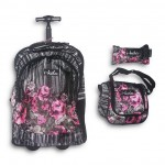 Trolley Bag B217 Ikola 18 inches (BAG + Lunch Bag + Pencil pouch)
