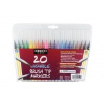SARGENT 20CT Brush tip Markers
