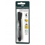 FABER-CASTELL Perm Marker P50 Chisel(254205) 1pc Blister Black