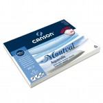 Canson 200006652 Montval Aquarellpapier, 32 x 41 cm, naturweiß