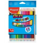 Maped Color Peps Double Ended Pencils 18=36Colors