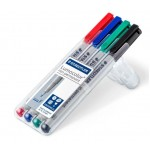 Staedtler 316-WP4-F Lumocolor OHP Non Permanent Marker Pen
