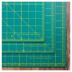Olfa Cuttng Mat 430x280x1.5mm A3 Green OL-RM-CG