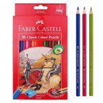 FABER-CASTELL Cardboard packet of 36 color Classic Line