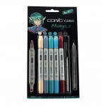 COPIC ciao Set 5+1 Manga 2