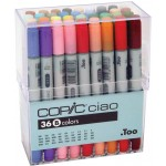 COPIC ciao Set of 36pc Set B colors