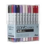 COPIC ciao Set of 36pc Set D colors