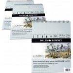 Daler-Rowney : Lyndhurst Spiral Pad smooth surface 135gsm 16x12in 25 sheets