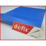 DC Fix 200-0107 Self Adhesive Cover Plain Mat 45cmx15m Air Blue