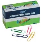 Paper Clips FIS Colour 50MM FSPS5OC-FIS