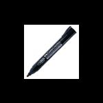 FABER-CASTELL Permanent Marker 254199 P20  Black Bullet Tip (10pc Box)
