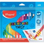 Maped Color Peps Twistable Crayons 24 color set