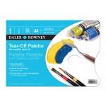 DALER-ROWNEY TEAR-OFF PALETTE A4,