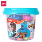 Deli Play Dough 24 colors, Net weight: 340g