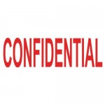 COLOP STAMP CONFIDENTIAL BLISTER PACK